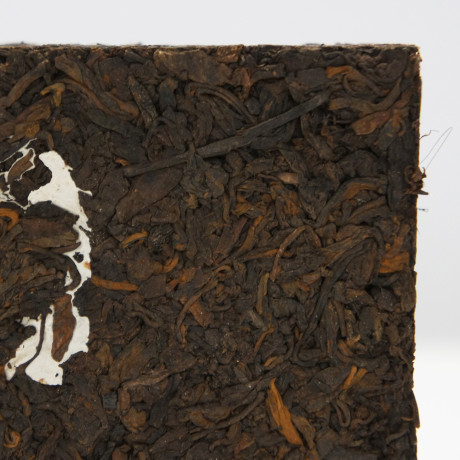 Tmavý puerh 2006 Red Ribbon Private Production – cihla 400g